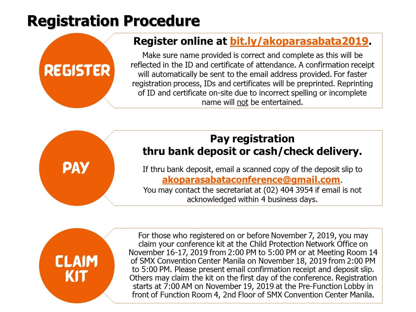 APSB 2019 Registration Procedure