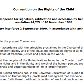 Convention on the Rights