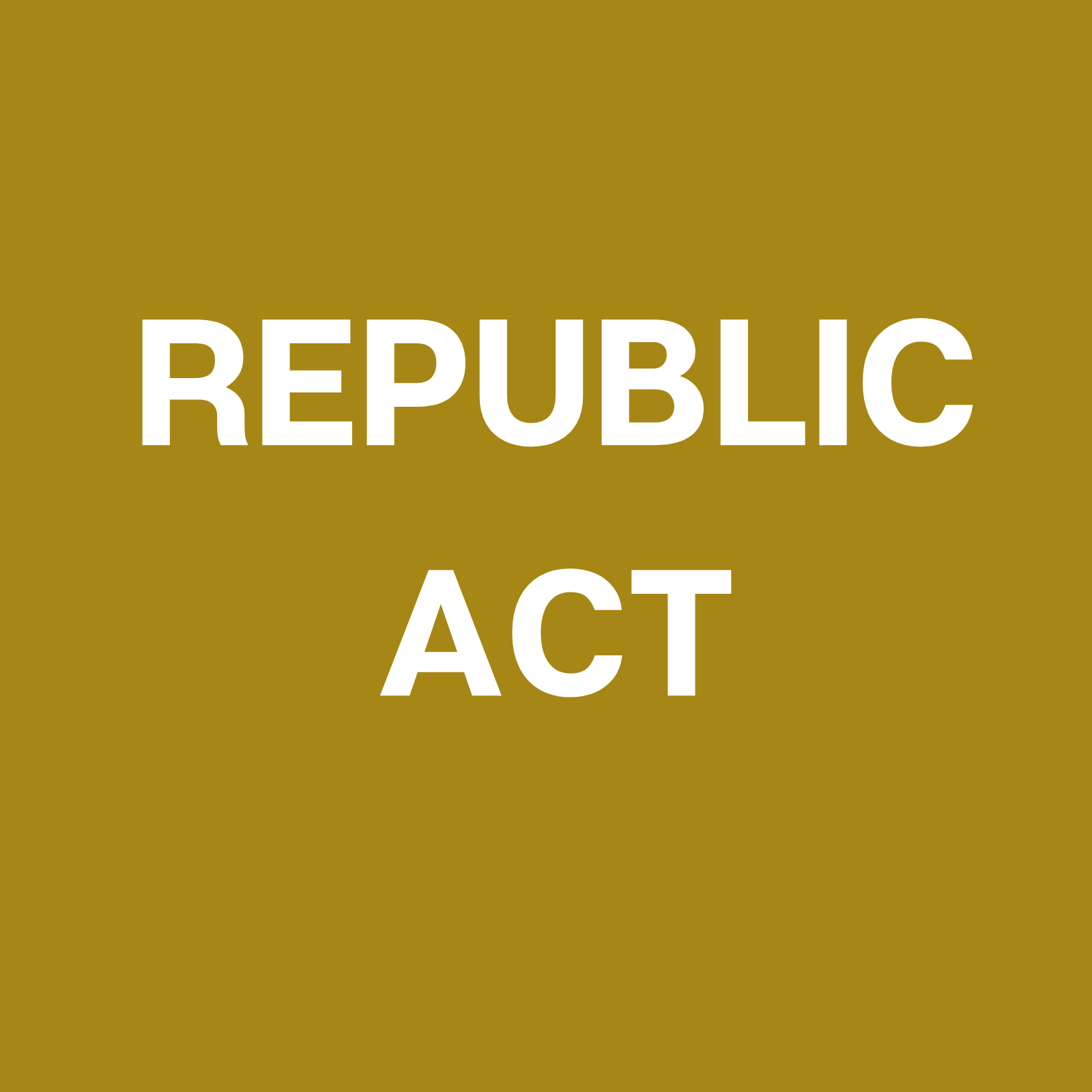 Republic Act